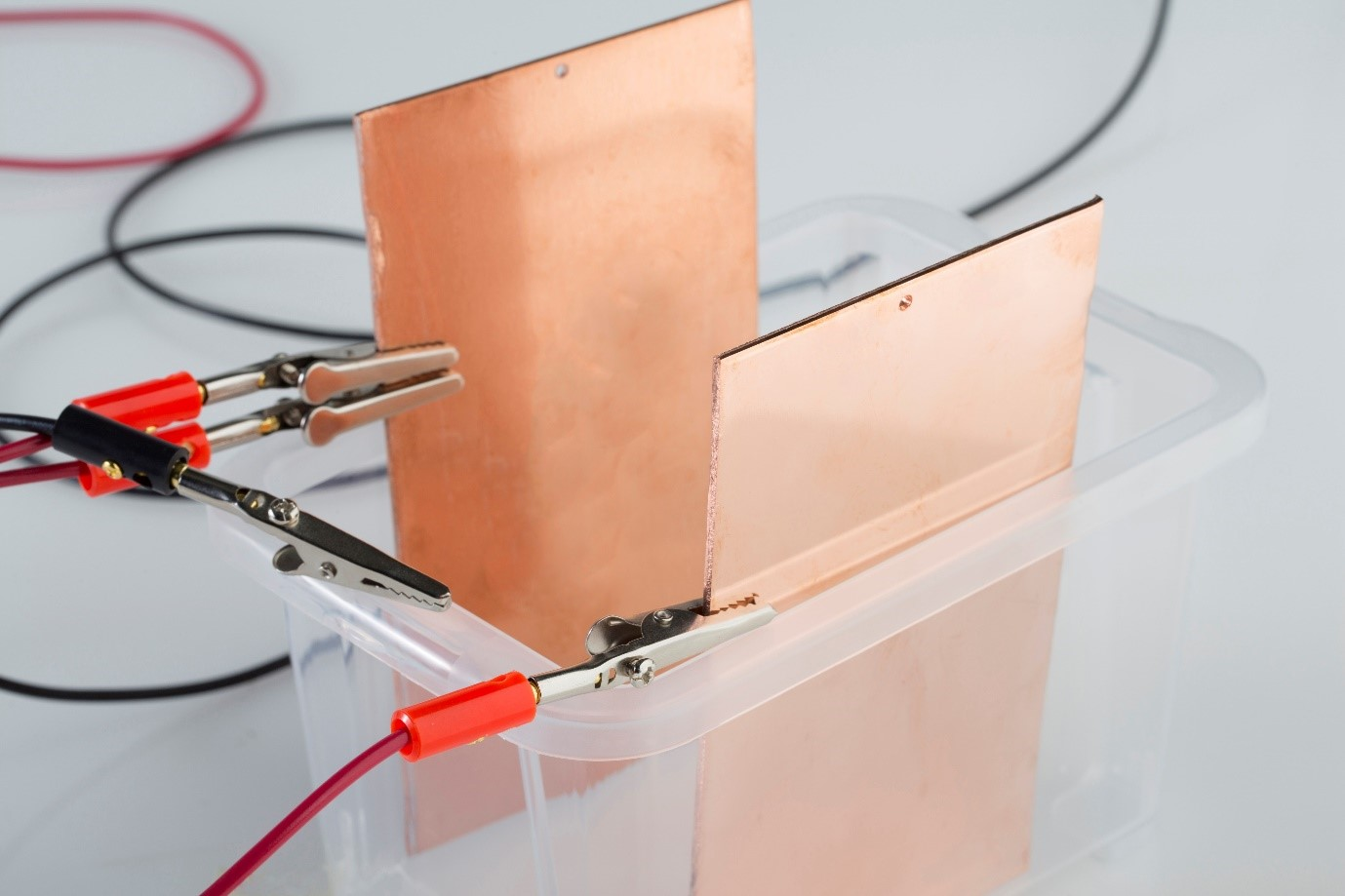 Copper tank conversion kit for electroplating