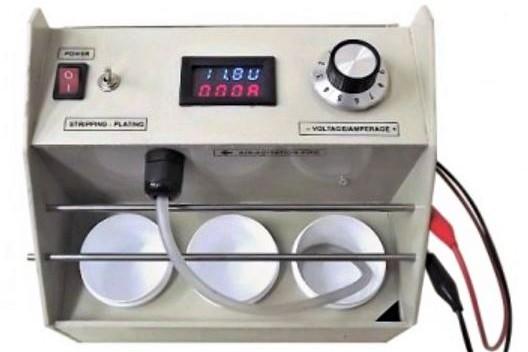 Compact 50ml Electroplating Kit for Rhodium Plating