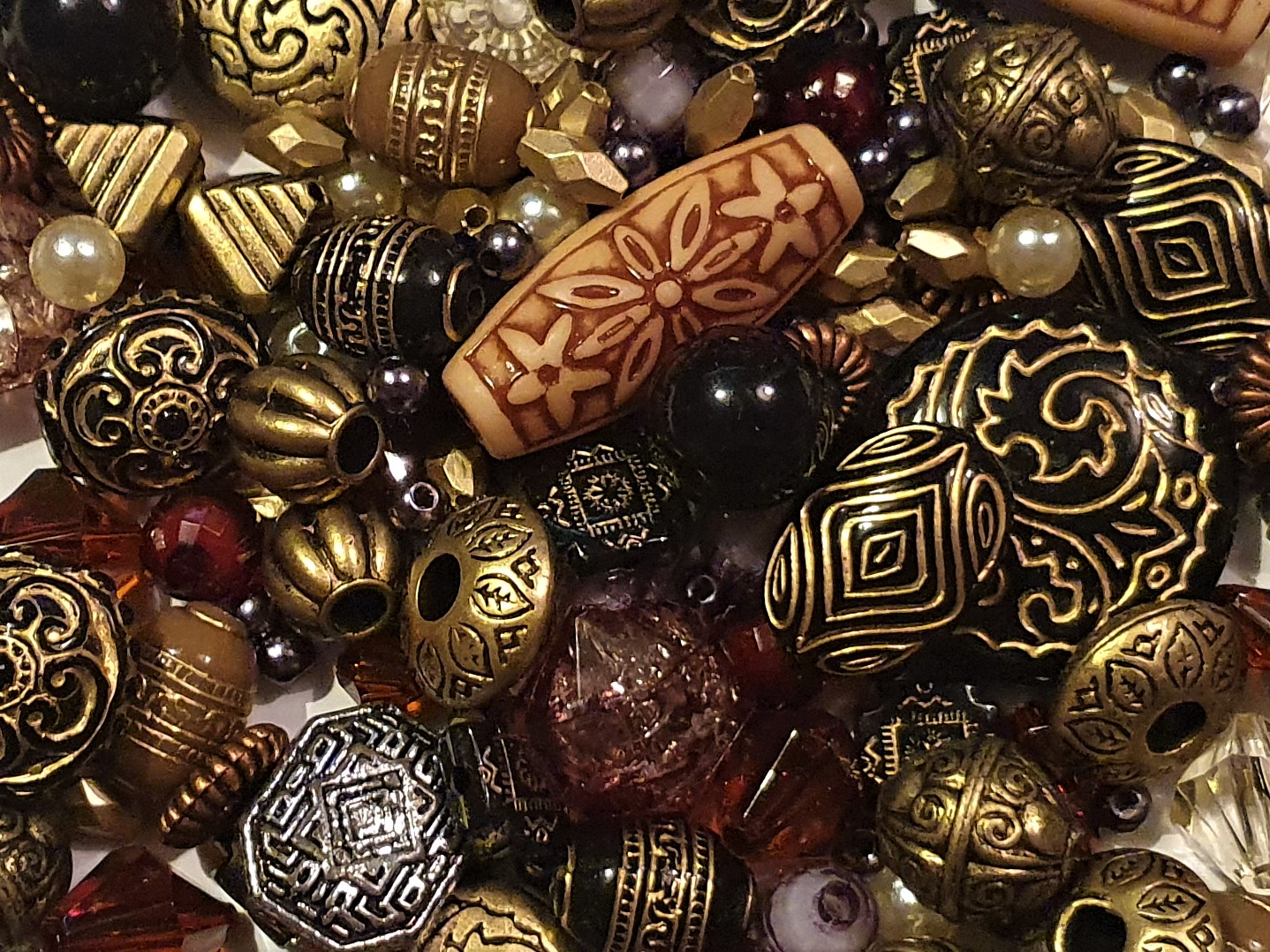 Jewellery Making Beads Assorted Styles