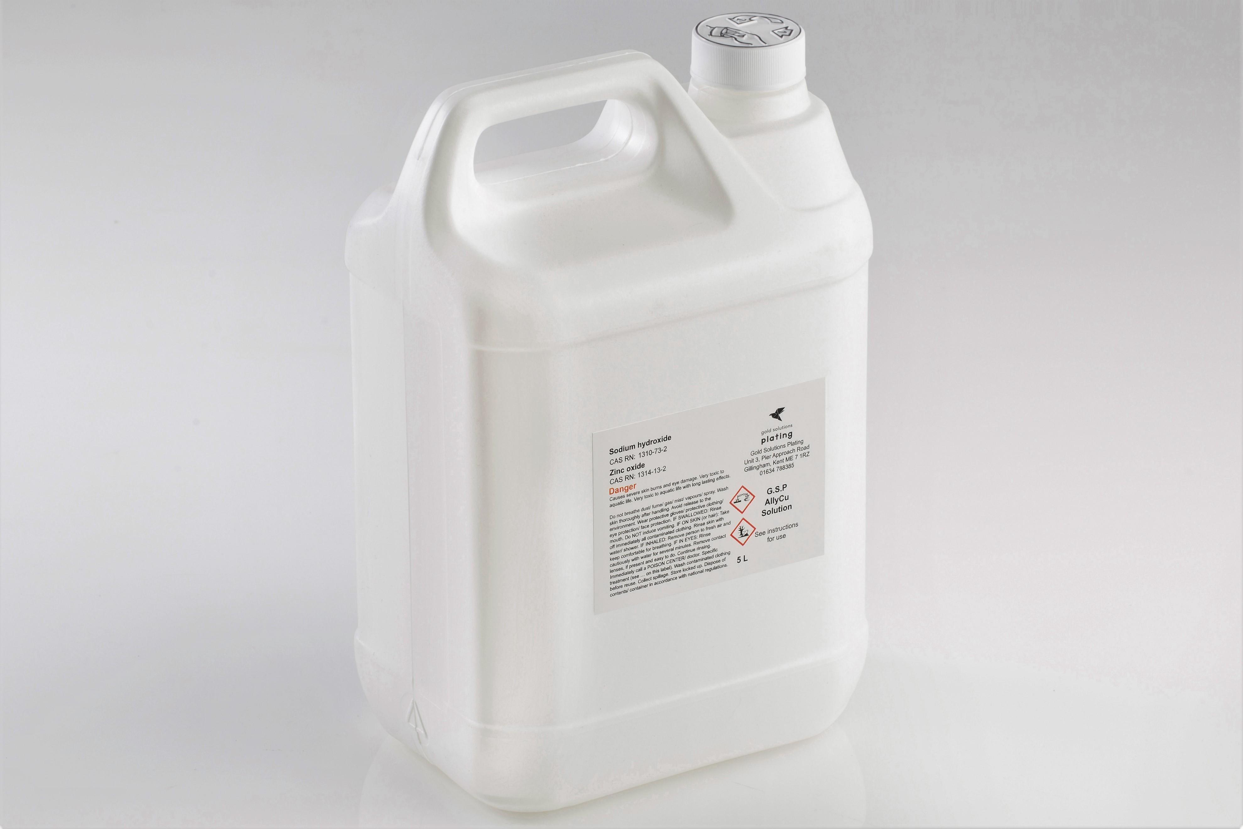 G.S.P AllyCu Solution, 5 litre bottle