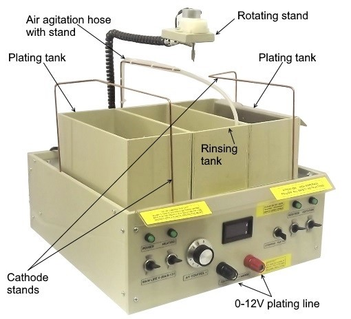20 Amp 5-IN-1 Professional Electroplating Station